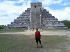 Photo at Chichen Itza, Mexico
