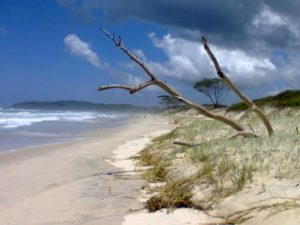 Photo beach of Byron Bay in Australia