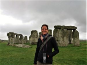 Photo at Stonehenge in England